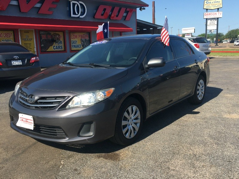 2013 toyota corolla base inventory drive out motors auto dealership in houston texas. Black Bedroom Furniture Sets. Home Design Ideas