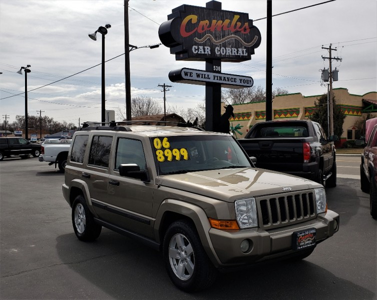 Jeep Commander 2006 price $7,999