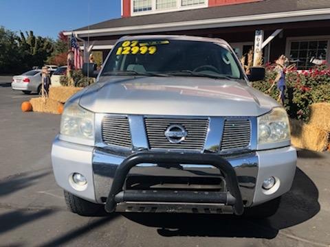Nissan Titan 2007 price $11,999
