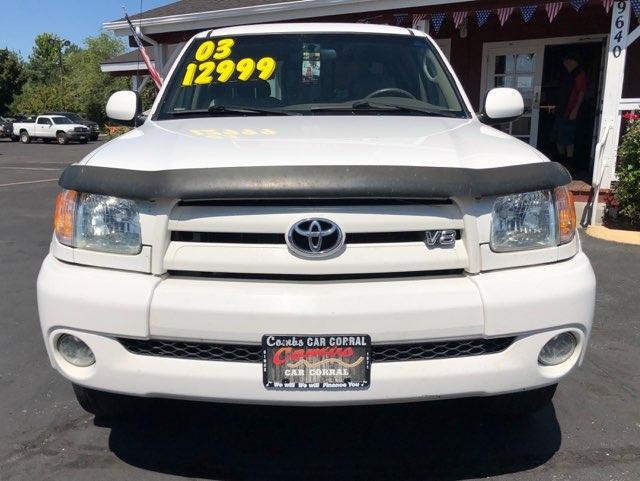 Toyota Tundra 2003 price $11,999