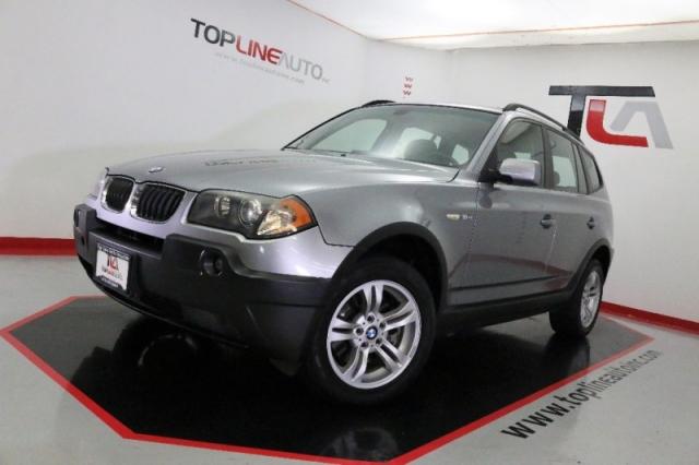 2005 BMW X3 X3 4dr AWD 3.0i. 110K MILES ONLY!! AUX INPUT ...