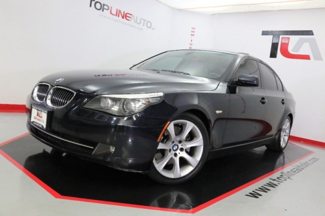 BMW Series Dr Sdn I RWD K MILES ONLY HEATED SEATS - 2008 bmw 535i sport