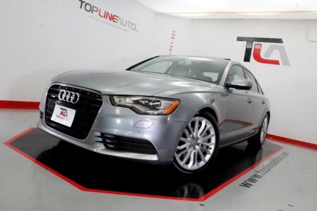 2012 Audi A6 4dr Sdn quattro 3 0T Premium Plus  NAVIGATION!! BAC