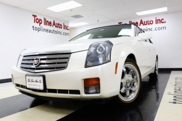 2003 Cadillac Cts 4dr Sdn No Accidents Good Tires Drives And