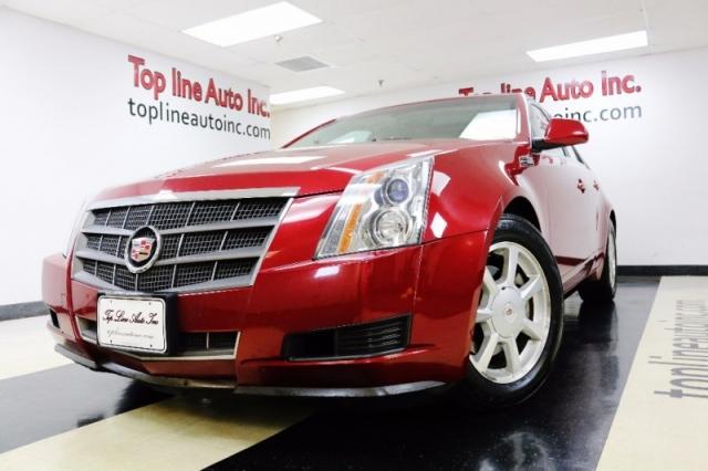 2009 Cadillac Cts 4dr Sdn Rwd W 1sa Panoramic Sunroof Impact
