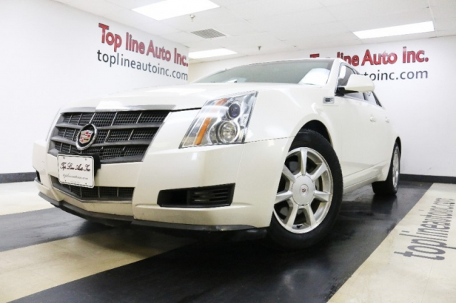 2008 Cadillac Cts 4dr Sdn Rwd W 1sa 122k Miles Only Leather Seats