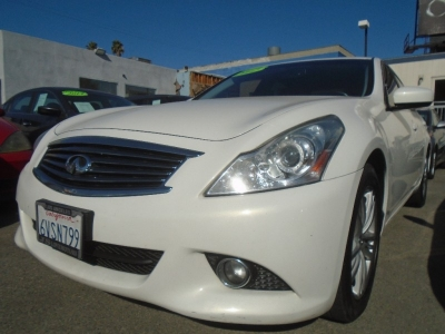 2012 INFINITI G25 JOURNEY SEDAN! 97K MILES! SPORTY! WARRANTY! $2,000 DRIVE OFF!