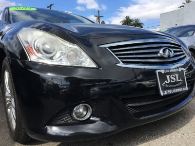 2012 INFINITI G25 JOURNEY SEDAN! ONY 81K MILES! SPORTY! BLACK ON BLACK! LOADED! $2,000 DRIVE OFF!