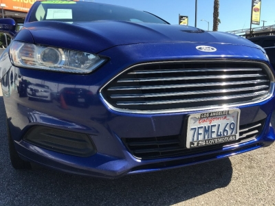 2014 FORD FUSION SE SEDAN! RARE PURPLE BLUE! RELATIVELY AFFORDABLE PAYMENTS! $1,500 DRIVE OFF