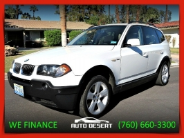 BMW X3 3.0i Panoramic Roof + GPS 2005