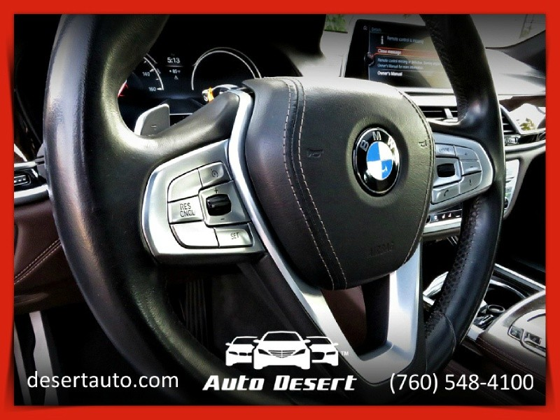 BMW 750i M SPORT Package Head-up Display Panoramic Roo 2016 price $47,570