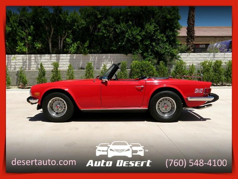 Triumph TR6 1976 price $27,900