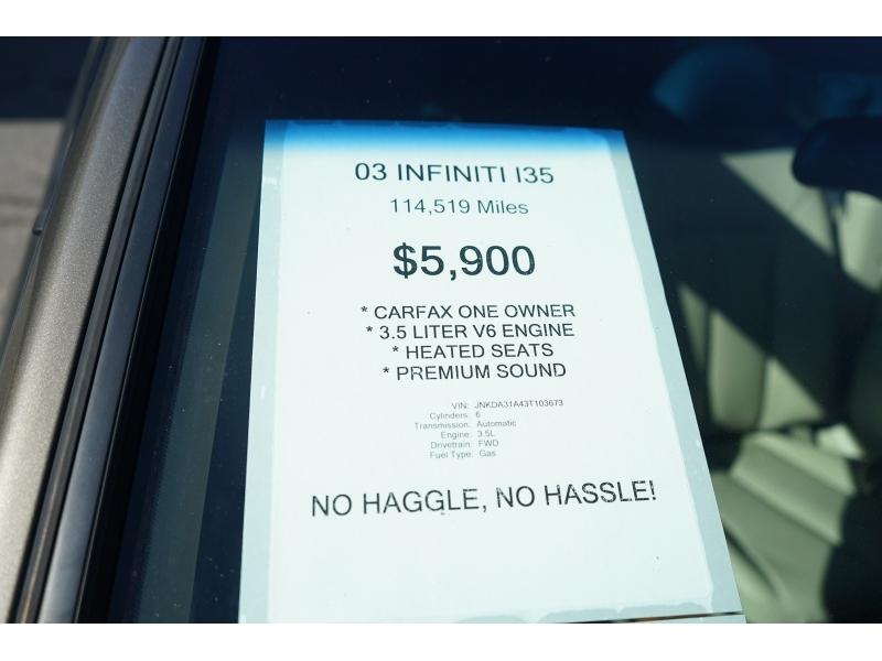 Infiniti I 35 2003 price $5,390