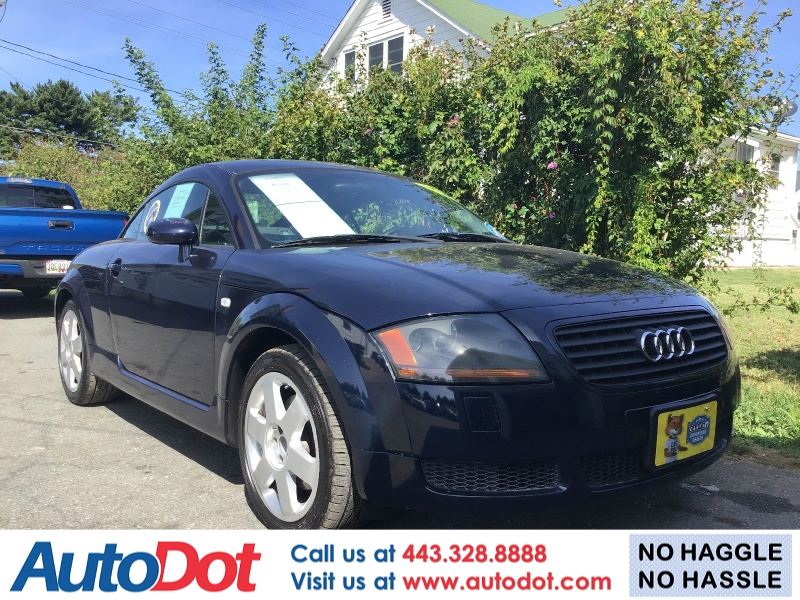 Audi TT Coupe 2002 price $3,490
