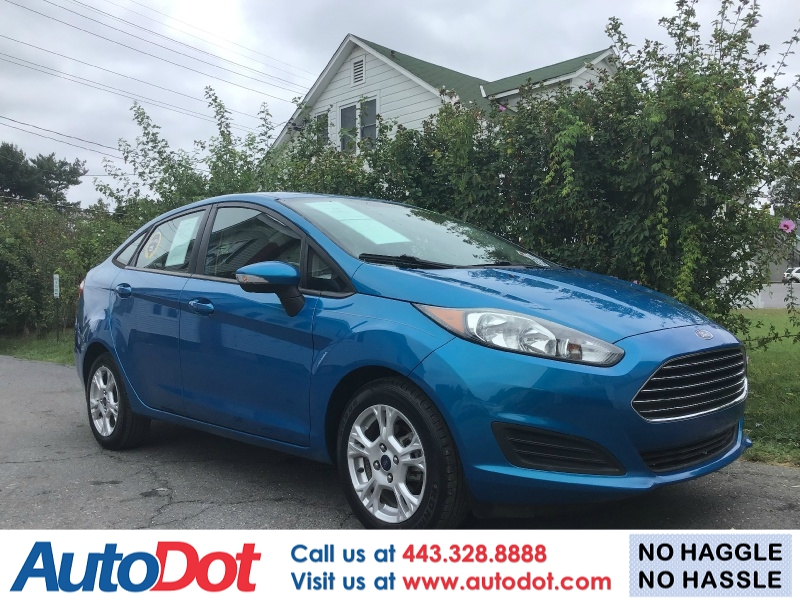 Ford Fiesta 2014 price $6,490