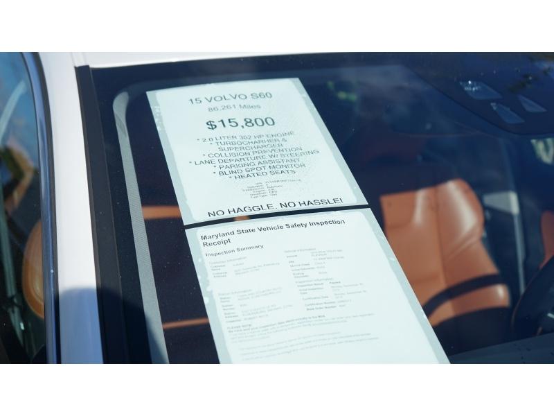 Volvo S 60 2015 price $14,990