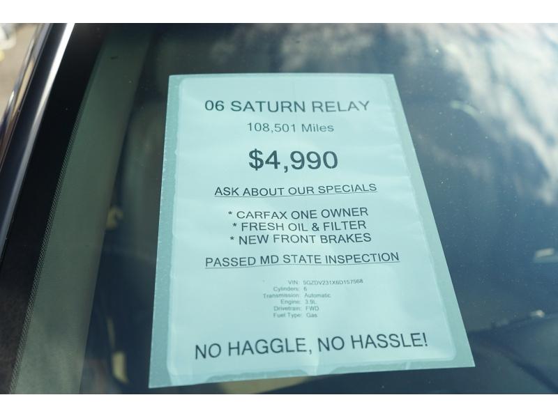 Saturn Relay 2006 price $4,990