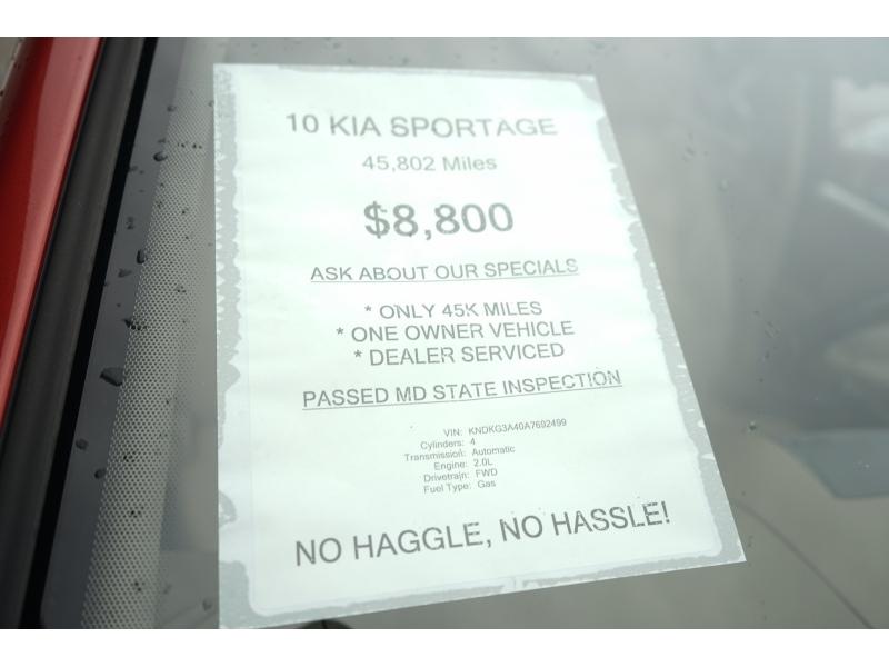Kia SPORTAGE 2010 price $8,800