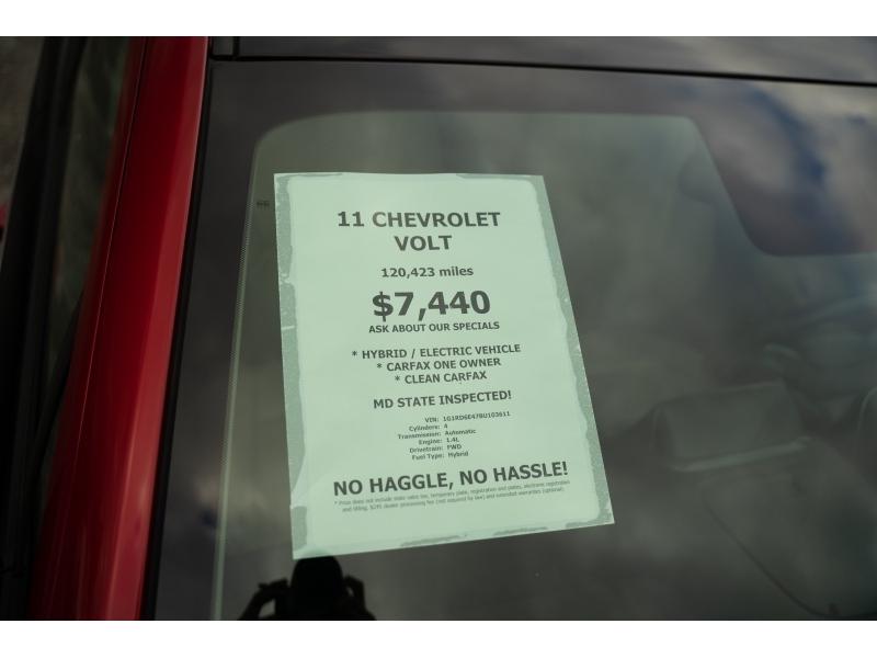 Chevrolet Volt 2011 price $7,440