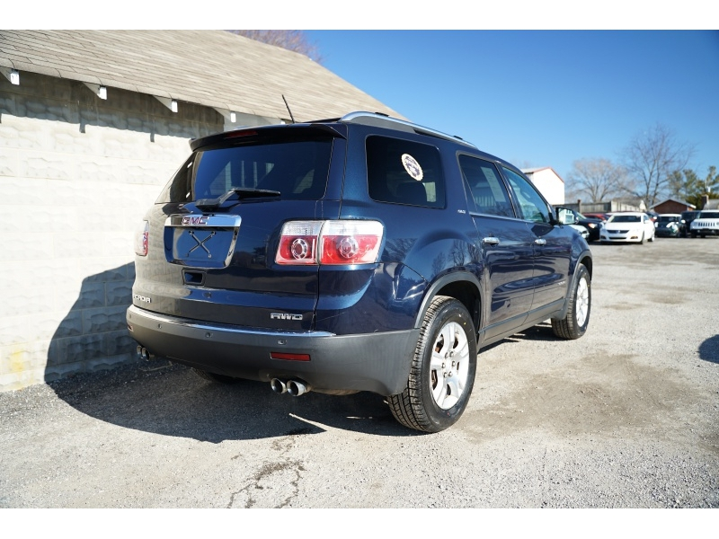 GMC Acadia 2008 price $7,440