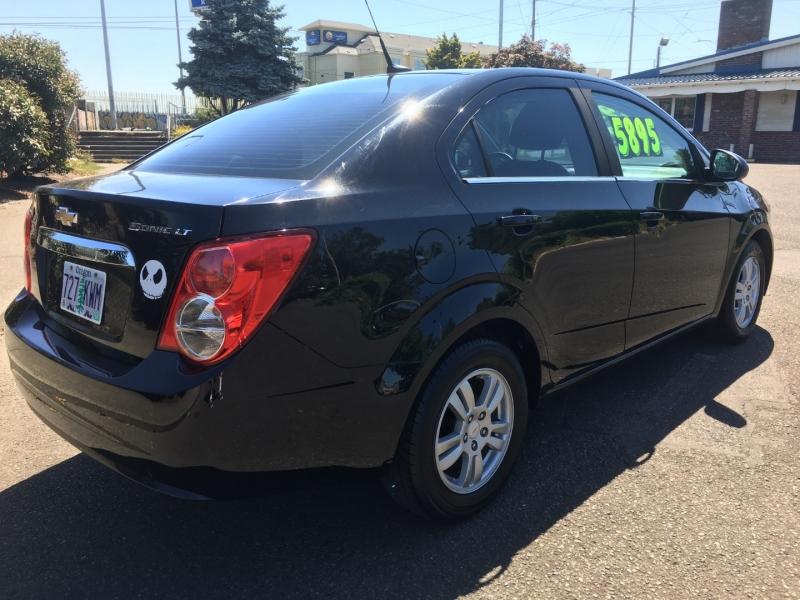 Chevrolet Sonic 2012 price $5,895