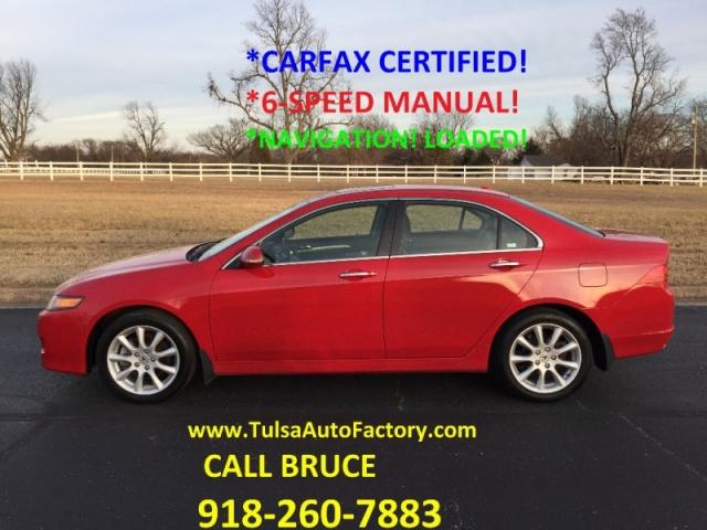 2006 acura tsx sedan with navigation 6 speed manual carfax rh tulsaautofactory com 2006 Acura TSX Interior Used 2006 Acura TSX