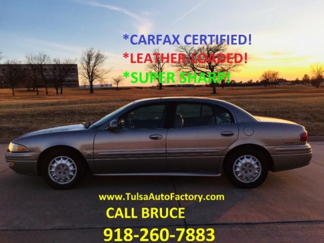 2002 Buick Lesabre Custom Sedan Beige Carfax Certified Leather