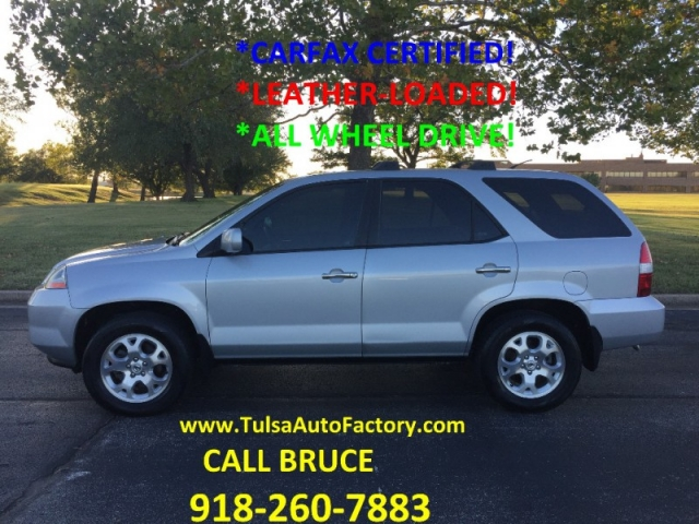 ACURA MDX TOURING SILVER CARFAX CERTIFIED LEATHERLOADED - 2002 acura mdx tires