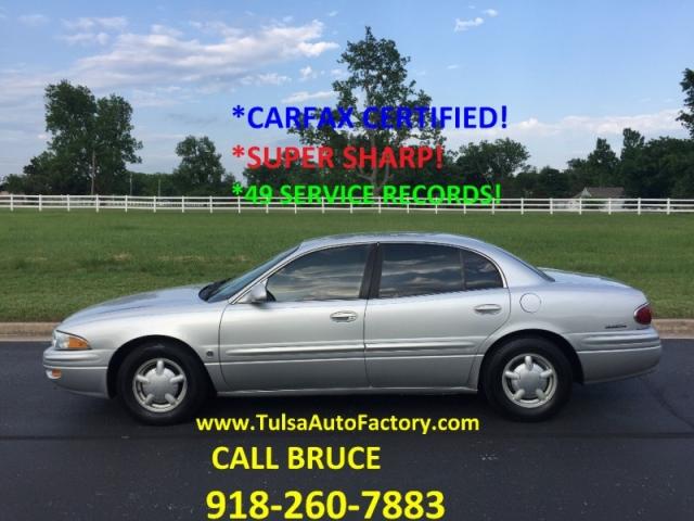 2000 Buick Lesabre Custom Sedan Silver Carfax Certified Well