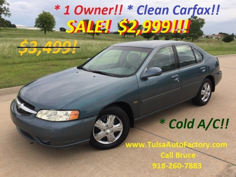 2001 Nissan Altima Gxe >> 2001 Nissan Altima 4dr Sdn Gxe Auto