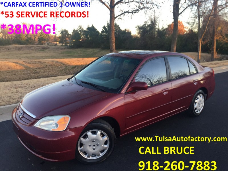 2002 Honda Civic Mpg >> 2002 Honda Civic 4dr Sdn Ex Auto
