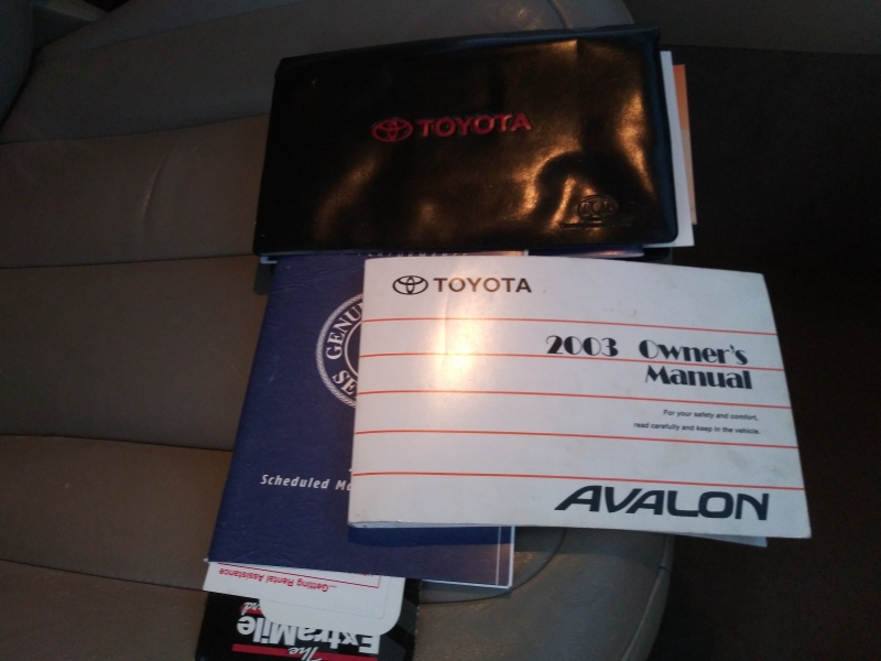 Toyota Avalon 2003 price $4,499