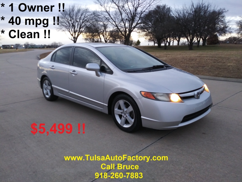 Honda Civic Sedan 2007 price $5,499