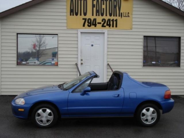 1993 HONDA CIVIC DEL SOL SI V-TECH BLUE *SUPER SPORTY* - Auto Factory, LLC | Auto dealership in ...