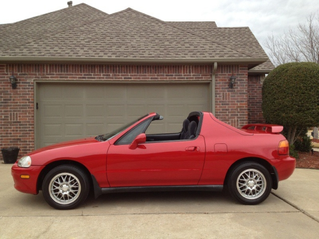 1997 HONDA DEL SOL SI RED *CARFAX CERTIFIED* *SUPER SPORTY* GAS SAVER-35MPG* - Auto Factory, LLC ...