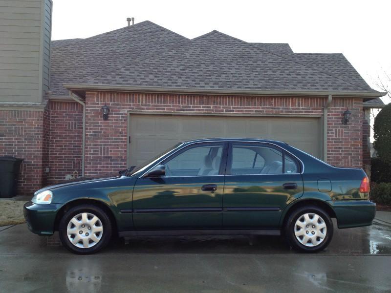 1999 Honda Civic Lx >> 1999 Honda Civic 4dr Sdn Lx Auto