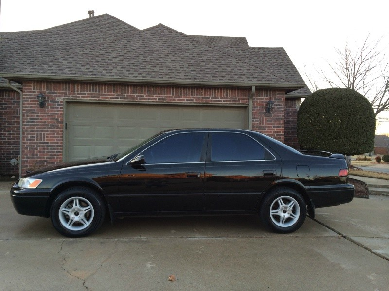 Black Toyota Camry >> 1998 Toyota Camry 4dr Sdn Le V6 Auto