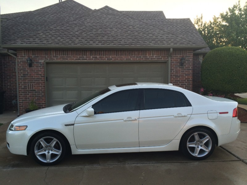 ACURA TL DR SEDAN WHITE CARFAX CERTIFIED LOADED SUPER - 2005 acura tl speaker size