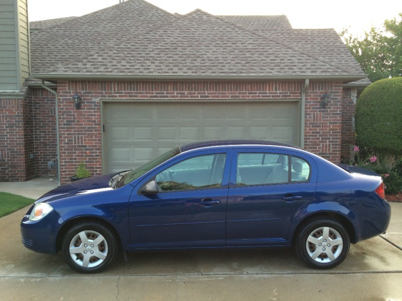 Nissan Dealership Tulsa >> 2005 CHEVY COBALT SEDAN BLUE *CARFAX CERTIFIED 2-OWNERS* *LOW MILES-JUST100K* *GAS SAVER-34MPG ...