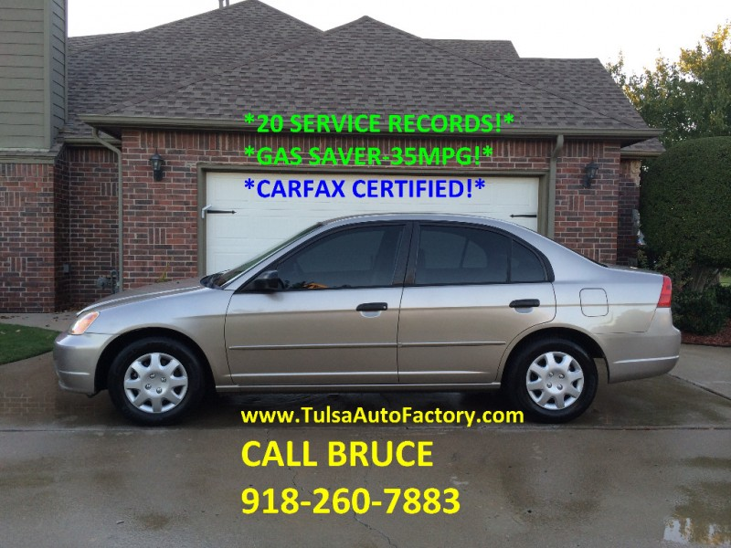 Honda Civic 2001 price $3,999