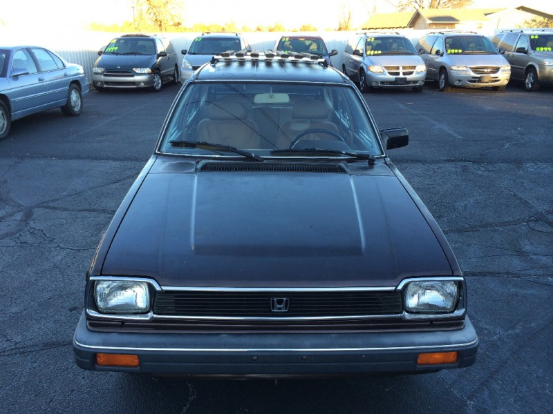 Honda Dealership Tulsa >> 1982 HONDA CIVIC DELUXE WAGON BROWN *CARFAX CERTIFIED 2 ...