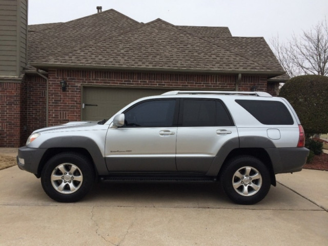 2003 Toyota 4 Runner Sport 4wd V8 Silver Price Reduced Carfax