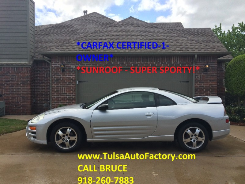 Fantastyczny 2003 MITSUBISHI ECLIPSE GS SILVER 5SPD MANUAL *CARFAX CERTIFIED 1 PE84