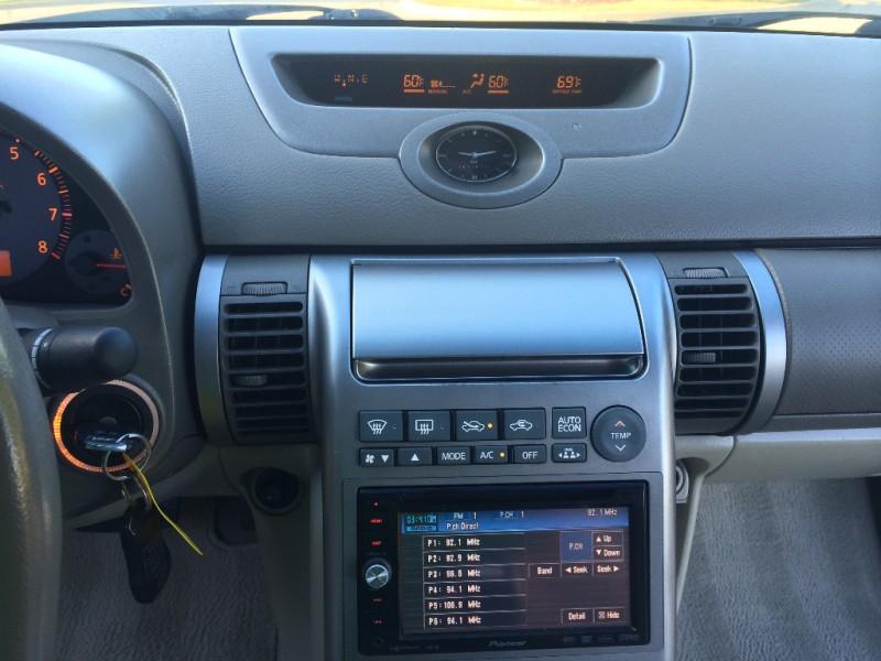 2003 Infiniti G35 Coupe Black Carfax Certified Super