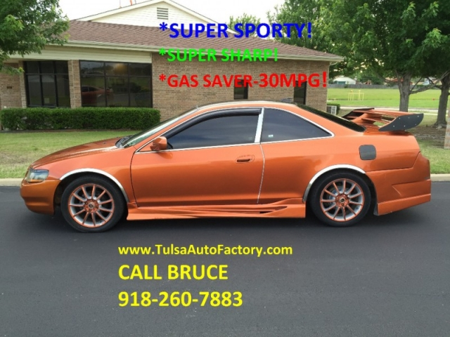 1999 HONDA ACCORD LX COUPE ORANGE AUTO *SUPER SPORTY* *GAS ...