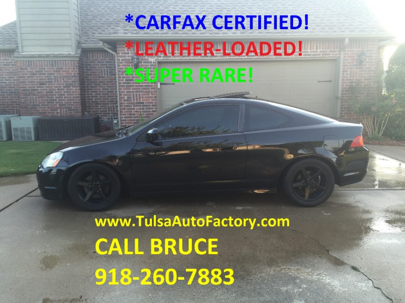 2004 Acura Rsx Type S >> 2004 Acura Rsx Type S Black 6 Speed Manual Carfax Certified Gas