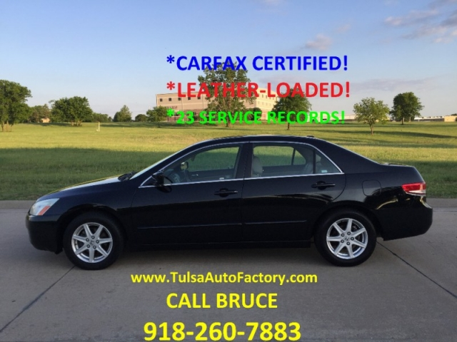 honda accord  sedan  black auto carfax certified leather loaded gorgeous mpg