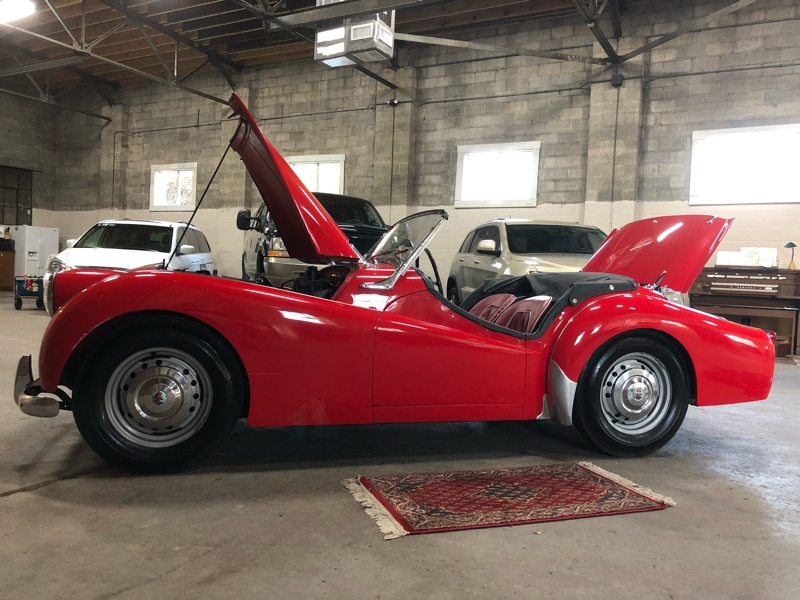 Triumph TR3 1957 price $20,999
