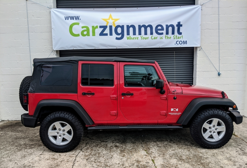Jeep Wrangler Unlimited 2008 price $15,900