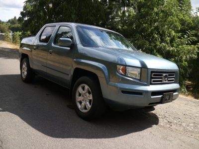 2007 Honda Ridgeline RTL 4X4 w/Leather *2 OWNER! 24 Srvc Rcds!* CALL/TEXT!